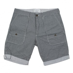 kurze Hose Wings + Horns schwarz weiß WI-5034 32 33 Cargo Shorts Pants Trousers