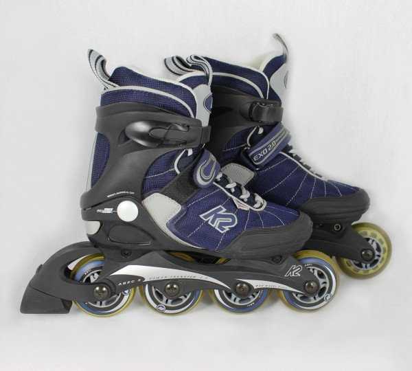 k2 inline skates exo 2 0 w sport gr 34 schwarz lila damen. Black Bedroom Furniture Sets. Home Design Ideas