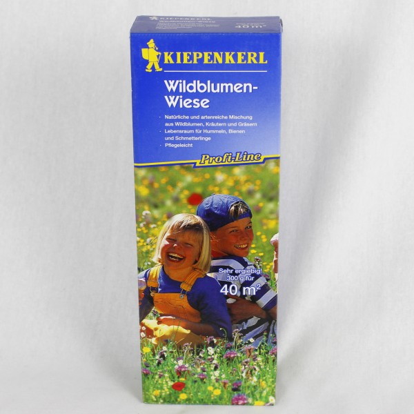 kiepenkerl wildblumen wiese 53 00 kg profi line 300 g f r 40 qm samen ebay. Black Bedroom Furniture Sets. Home Design Ideas