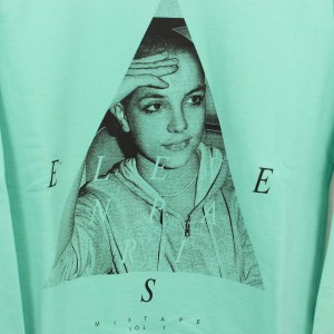 Eleven Paris Britney Spears mens Sweatshirt Gr. M MIXVOL1 PEPPERMINT
