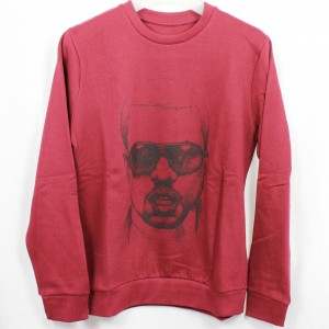 Eleven Paris mens Sweatshirt KANYE WEST Gr. M Sweatkane wineberry