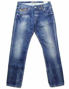 Pepe Jeans Jeanshose mod. CONNORS PM2009252 blau 000 DENIM destroyed used Look