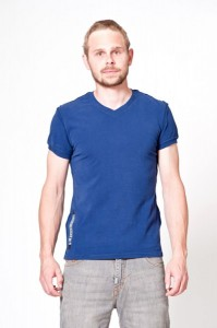 Take Two T-Shirt Shirt mod. M02059 GABE Deep Navy Men Herren Slim Fit Blau NEU